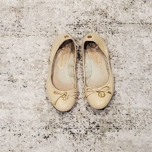 WISHBONE Ballerina Flats
